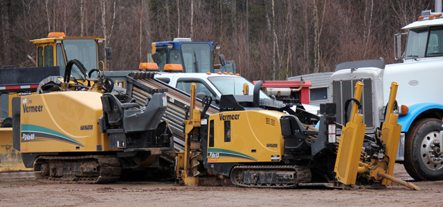 Heavy-duty machinery